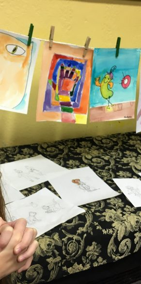 Mack's First Art Show