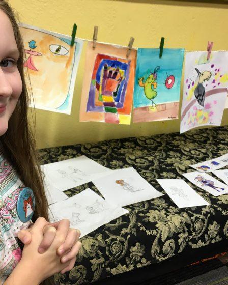 Mack's First Art Show